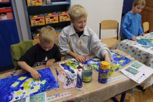 Malujeme jako van Gogh